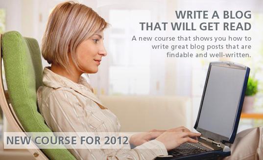 Writing a Blog Course