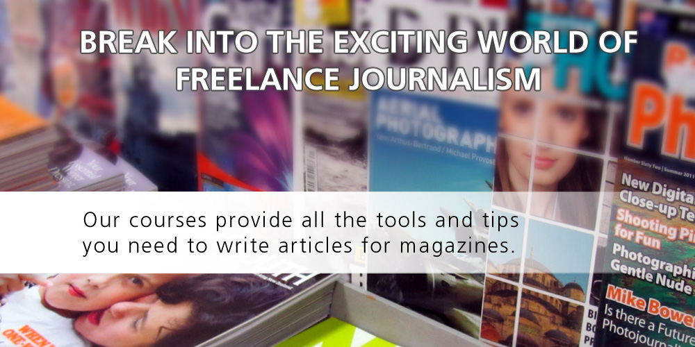 Journalism Courses at the Writers College