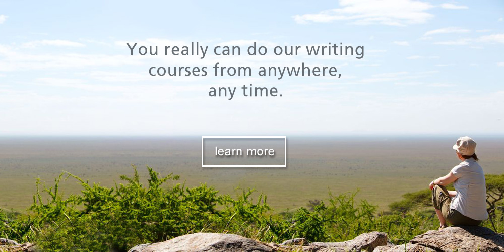 Over 33 writing courses at The Writers College