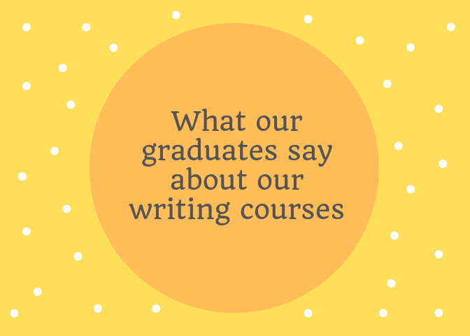 writing course reviews from graduates of the writers college