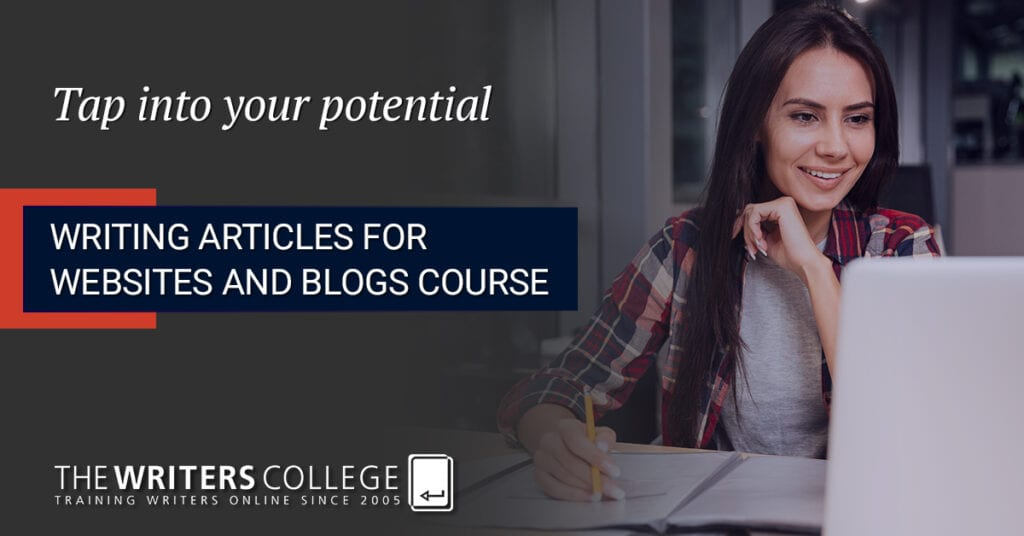 writing articles for blogs and websites course
